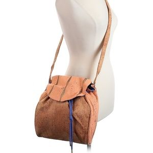 KOZA Cork Crossbody Bag NEW